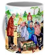 Once Upon A Park Bench Coffee Mug