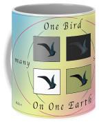 One Bird Poster And Greeting Card V1 Coffee Mug