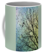One For Sorrow Coffee Mug by John Edwards