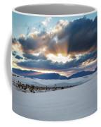 One More Moment - Sunburst Over White Sands New Mexico Coffee Mug