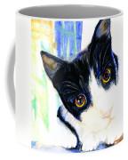 One Paw In Heaven Coffee Mug