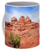 One Person Hiking At Kodachrome Park, Utah Coffee Mug