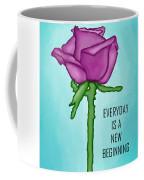 One Rose Everyday Coffee Mug