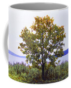 One Tree Hudson River View Coffee Mug