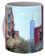 One World Trade Center In Spring Coffee Mug