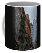 One World Trade Center New York Ny From Nassau Street Coffee Mug