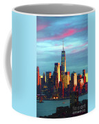 One World Trade Sunset Spectacle Coffee Mug