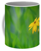 One Yellow Coreopsis Flower Coffee Mug