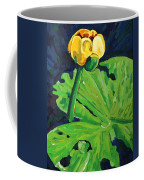 One Yellow Lily Coffee Mug