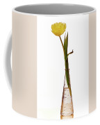 One Yellow Tulip Coffee Mug