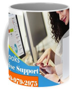 Online Support Phone Number For Quickbooks Enterprise Coffee Mug