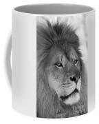 Onyo #10  Black And White Coffee Mug