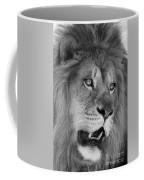 Onyo #6  Black And White Coffee Mug