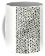 Op Art Abstract Triangle Design Coffee Mug