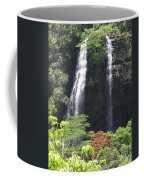 Opaekaa Falls On Kauai Before A Storm Coffee Mug