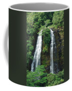 Opaekaa Waterfall Coffee Mug