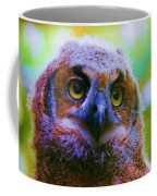 Opalescent Owl Coffee Mug