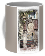 Open Air Bed Among The Arches India Rajasthan 1c Coffee Mug