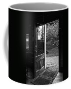 Open Door B-w Coffee Mug