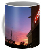 Open Late Coffee Mug