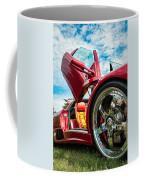 Open Sesame Red - Lamborghini Diablo  Coffee Mug