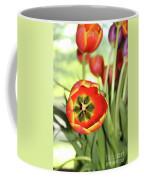 Open Tulip Coffee Mug