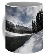Open Water In Winter Coffee Mug