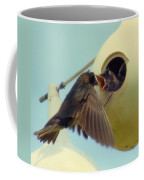Open Wide Coffee Mug by Karen Wiles