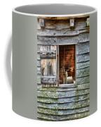 Open Window In Pioneer Home Coffee Mug by Jill Battaglia