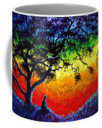 Opening The Chakras Meditation Coffee Mug