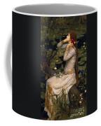 Ophelia Coffee Mug by John William Waterhouse