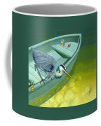Opportunity-the Great Blue Heron Coffee Mug