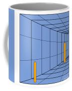 Optical Illusion. Perception Coffee Mug