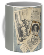 Optical Illusion With Prints And Pamphlets, L. Groskopf, C. 1746 Coffee Mug