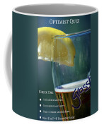 Optimist Quiz Coffee Mug