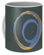 Orange And Blue 3 Coffee Mug