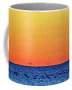 Orange And Blue Morning 2  Coffee Mug