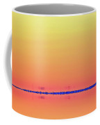 Orange And Blue Morning 3  Coffee Mug