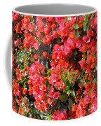 Orange And Colral-pink Flowers 2 Coffee Mug
