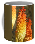 Orange And Gold Flower  Coffee Mug