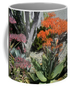 Orange And Pink Exotic Bell Flowers Coffee Mug