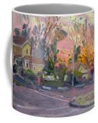 Orange And Pink Sunset Coffee Mug