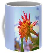 Orange And Yellow Dahlia Coffee Mug
