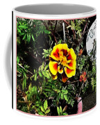 Orange And Yellow Flower Coffee Mug