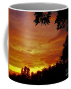Orange And Yellow Sunset Coffee Mug