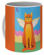 Orange Angel Cat Coffee Mug