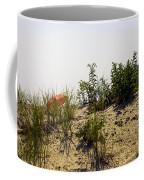 Orange Beach Umbrella  Coffee Mug