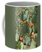Orange Blossom Cactus  Coffee Mug