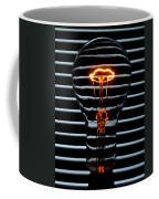 Orange Bulb Coffee Mug