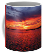 Orange Burst At Daybreak Coffee Mug
